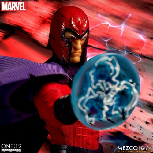 """Mezco One 12 Collective Marvel X-Men Magneto 1//12 Scale 6/"""" Figure In Stock NOW"""