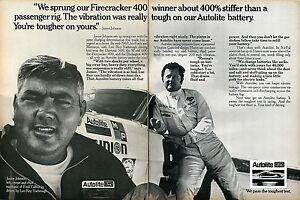 1970-Autolite-Battery-Junior-Johnson-amp-Lee-Roy-Yarbrough-2-Page-Print-Ad