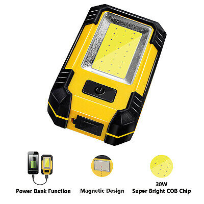 Outdoor Super Bright Emergency COB Work Light Auto Repair Lamp for Camping