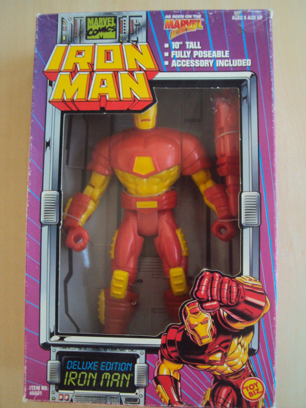 Marvel iron man  iron man (25 cm) new toy biz 10