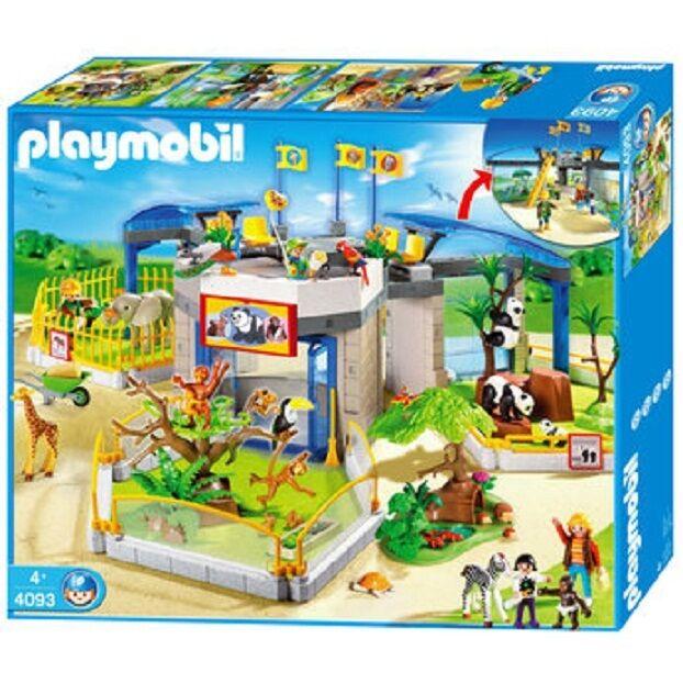 ordina adesso Nuovo PLAYMOBIL 4093 ANIMAL bambino ZOO RARE RARE RARE ANIMALS SET cifraS FARM  comprare sconti
