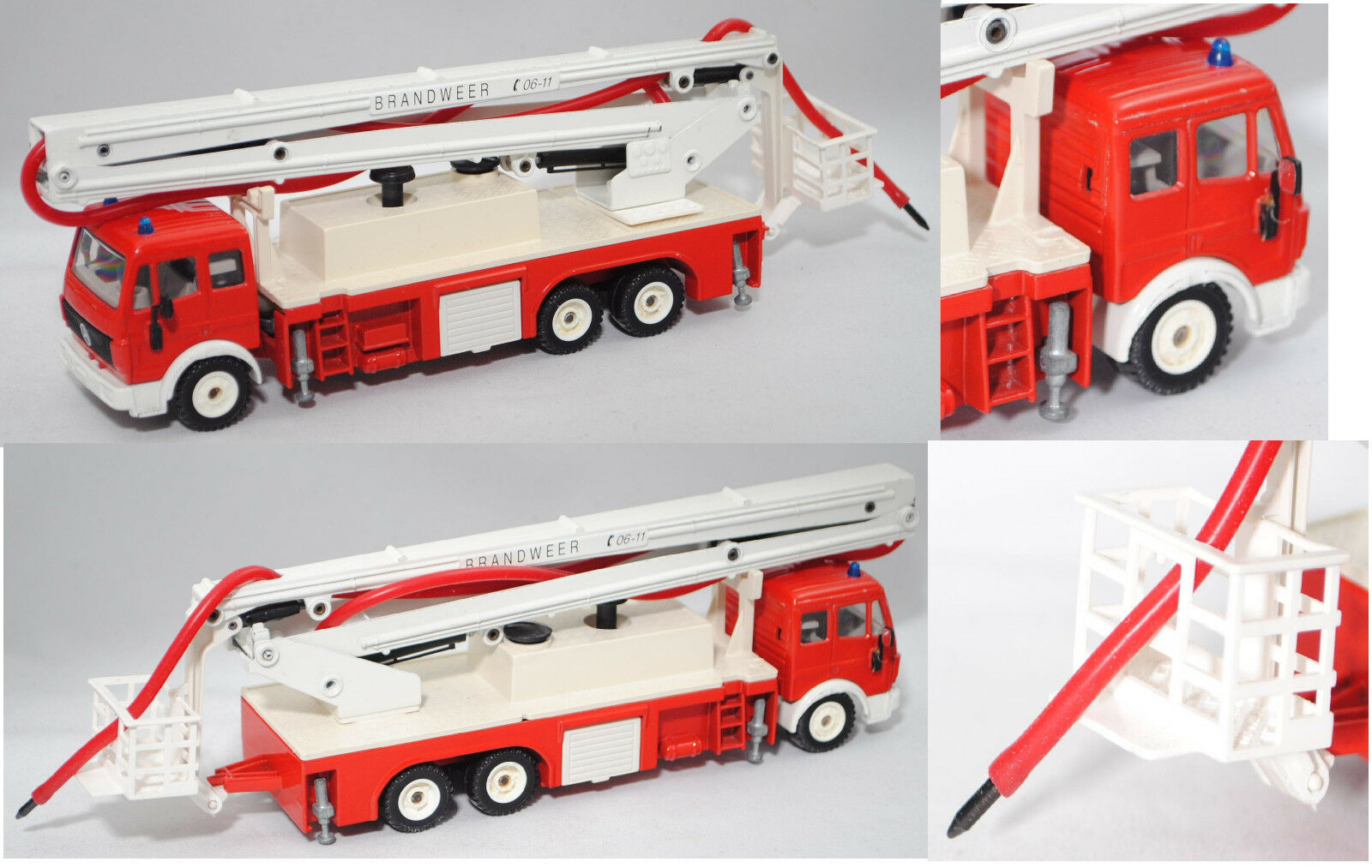 Siku Super 3720 00300 NL Mercedes SK Feuerwehr mit Gelenkarmb 65533;65533;hne BRANDWEER