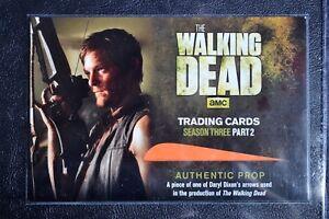 Walking-Dead-Season-3-Redemption-R04-Daryl-Arrow-Variant-Prop-Large-Trading-Card