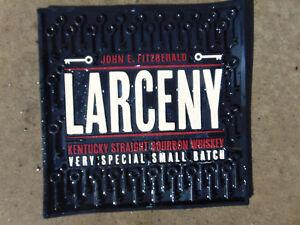 Larceny Kentucky Bourbon Whiskey Rubber Drain Liquor Bar