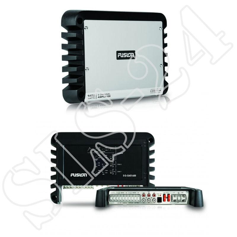 FUSION MARINE Amplifier SG-DA51600 5 Kanal CHANNEL Stiefel Yacht Verstärker 1600W