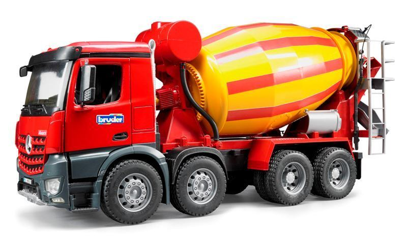 BRUDER Mb Arocs LKW Beton Autotransporter Bimbo Spiel Bimbo Autotransporter Male Kind 893 e544cb
