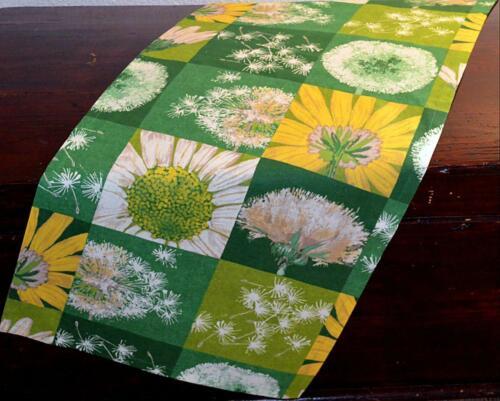 Hossner Tischdecke Tischläufer Kissenhülle Kissenbezug Sommer Pusteblume Grün
