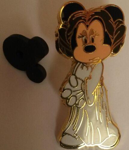 Star Wars Minnie as Princess Leia Disney Land Resort Paris Dlrp Dlp 2009 Pin