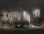 thumbnail 2 - NEW Modern LED Queen King 4PC Champagne Gold Bedroom Set Glam Furniture B/D/M/N