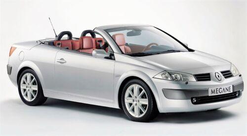 Renault Megane Convertible 2003-2009 Left Side Electric Door Mirror Gris Platine