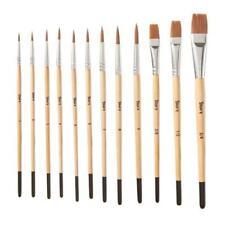 Escoda Prado 1463 Watercolor /& Acrylic Tame Synthetic Sable Paint Brush Angled; Size 10