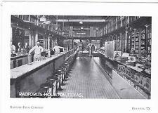 "*Postcard-""The Radford Drug Company @ Main St.-Houston (1912-1922) (#53)"