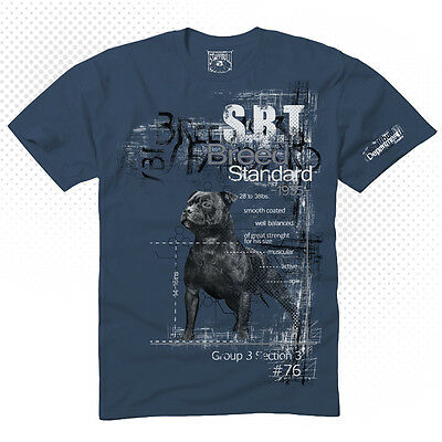 Staffordshire Bullterrier T-Shirt Streetwear Staffbull Breed Standard Staffy