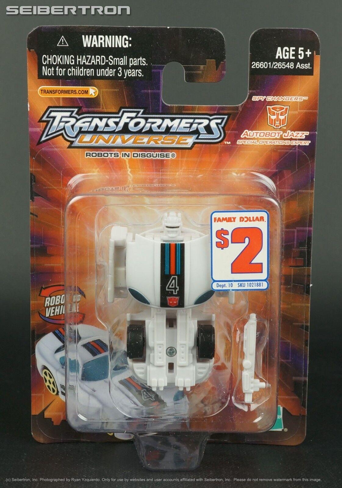 Spychanger JAZZ Transformers Universe Spy Family Changers 2003 Family Spy Dollar New f5a566