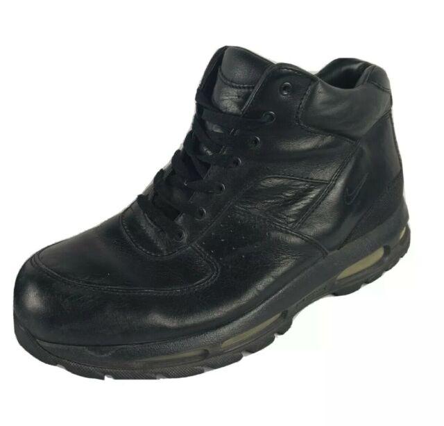 Nike Air Max ACG Goadome Black Leather BOOTS Men's Size 11 UK 10 EUR 45