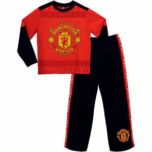 new arrival size 40 cheapest sale Details about Manchester United Pyjamas   Man UTD PJs   Manchester United  pj's   Football PJs