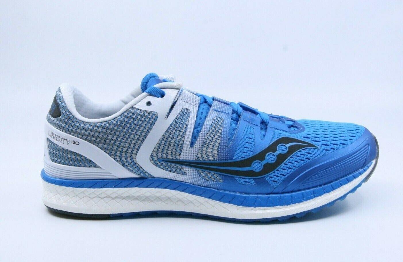 Saucony hombre S20410-2 Azul blancoo negro liberto ISO tenis de correr