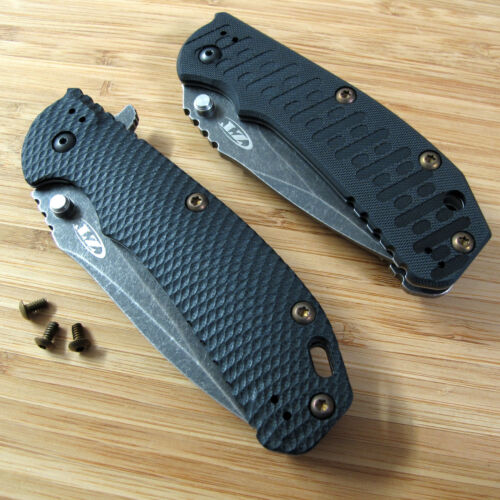 Zero Tolerance ZT0550 550 561 ZT Knife 3PC Titanium Torx Body Screw Set BRONZE