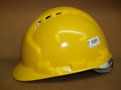 JSP EVO 8 Mk 8 Yellow Vented Comfort Safety Helmet Free Delivery