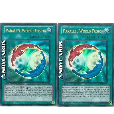 FUSIONE MONDO PARALLELO • Parallel World Fusion • Ultra R • LC02 IT011 Yugioh!