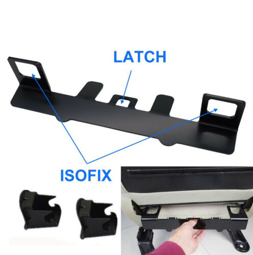 Universal Car Safety Seat Fixation Latch Bracket Mount Anchor for ISOFIX Buckle