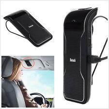 Wireless Bluetooth Handsfree Car Kit Sun Visor Clip Drive Talk For iPhone Galaxy