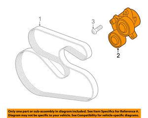 image is loading bmw-oem-15-16-x3-serpentine-drive-fan-