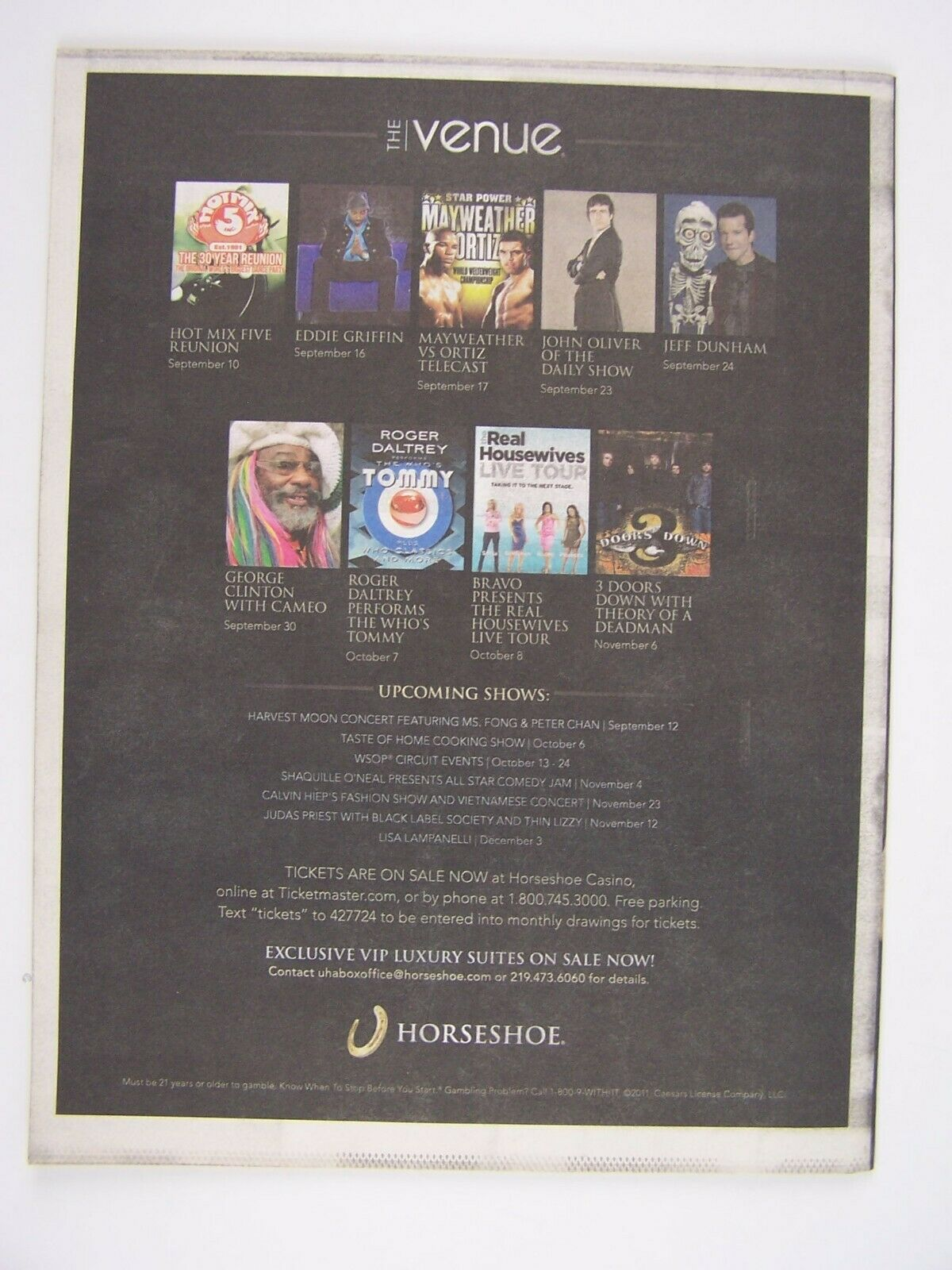 Illinois Entertainer September 2011 Tom Morello Cover I