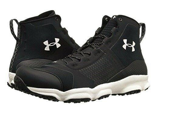 Under Armour SpeedFit Hike MID Tactical nero Trail stivali stivali stivali 10 14 Mens 09b0e2