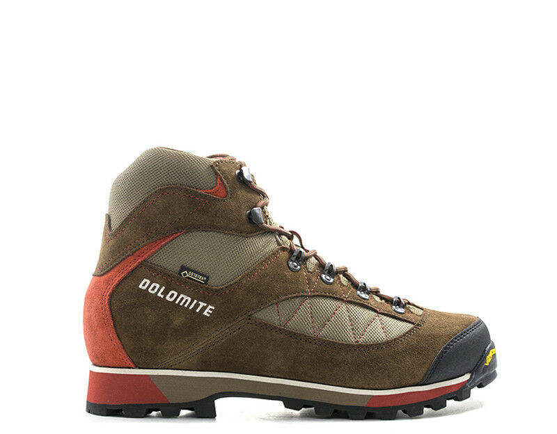 shoes DOLOMITE men Trekking  brown Scamosciato,Tessuto 248115-BR