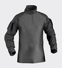 HELIKON TEX UBACS Combat shirt Hemd Ellbogenschoner w Ellbow pads schwarz Small
