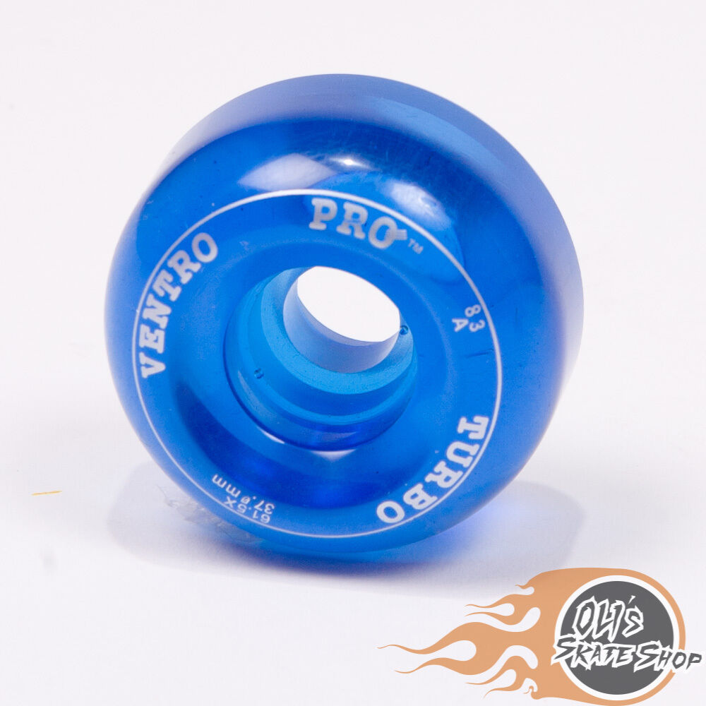 Ventro Ventro Ventro Pro Turbo Quad Roller Skates, Bauer Style - ROT Blau 973487