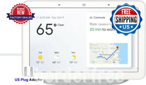 Google - Home Hub with Google Assistant - Chalk ✔ WORLDWIDE SHIPPING ✔