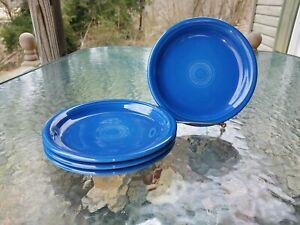 """Set Lot 4 salade Bistro plaque de lapis bleu nouveau Homer Laughlin FIESTA 7 1-4""""-afficher le titre d`origine 0rFgd1yR-09162355-446974685"""