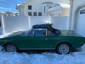1969 Fiat 124 Sport Spider Project ****Rare year