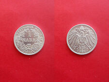 Deutsches Reich 1 Mark 1914 E Silber Erhaltung!