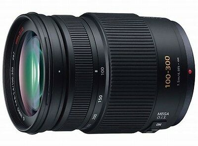 Panasonic Lumix G Vario 100-300mm f/4.0-5.6 Mega O.I.S Lens Japan model New