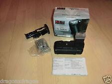 Meike lp-e5 mango con 2 baterías, para Canon EOS 450d 500d 1000d 2j. garantía