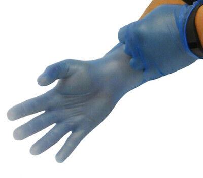 Keepsafe Nitrile Disposable Gloves 4Mil Powder-Free Blue 991117-S Box of 100!