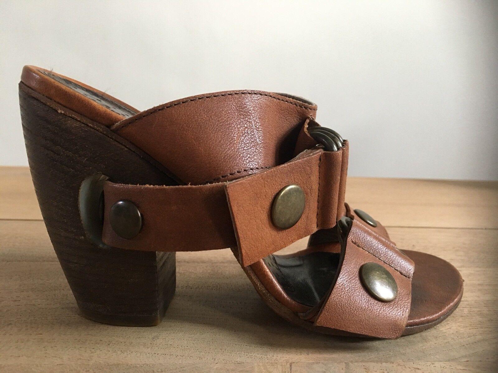 Orig. ELISANERO Pantoletten Flip Flop Schuhe Sandale Gr.36 OVP NP