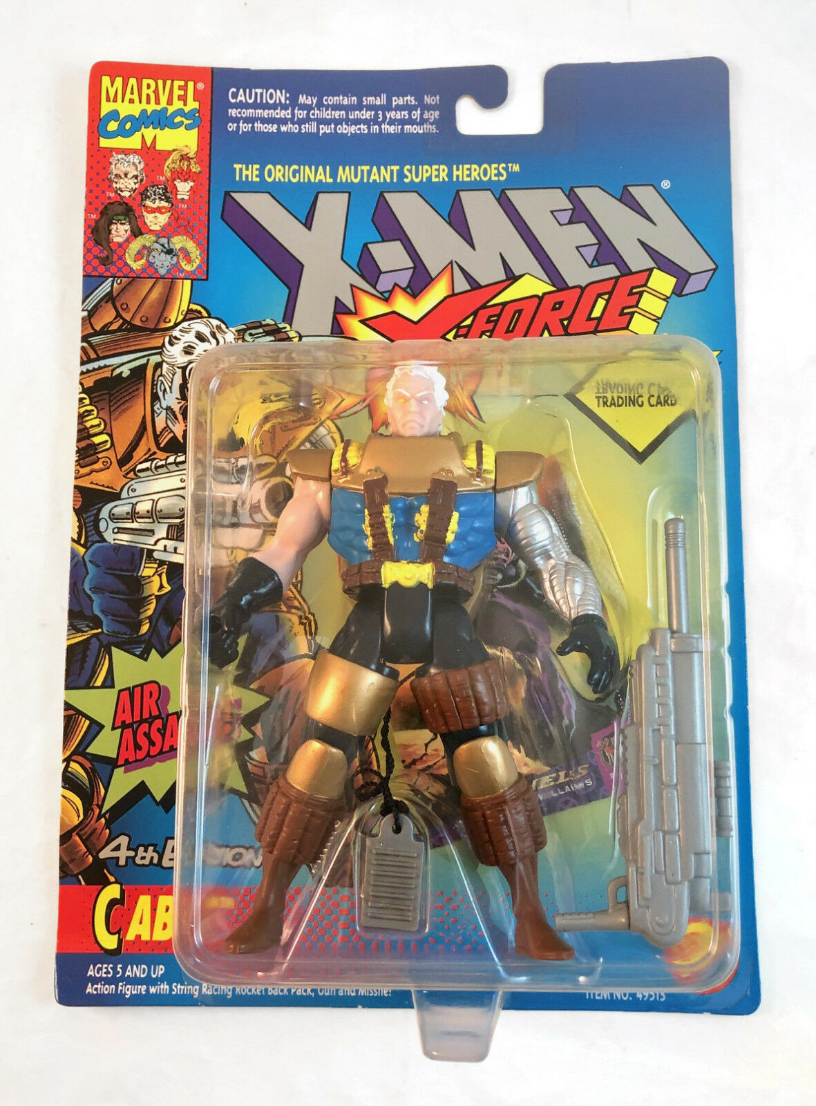 Kabel - action - figur - 4. ausgabe - x - force  x - men  - toybiz   marvel 1994 moc