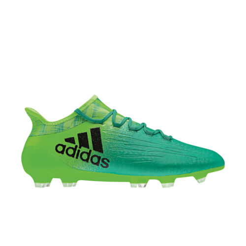 adidas X 16.1 FG Techfit Fußballschuhe mit Knöchelsocke Turbocharge grün BB5839