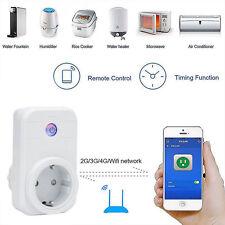 EU Plug Wifi Wireless Phone APP Remote Control Timer Switch Smart Power Socket