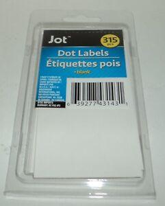 JOT-Dot-Blank-Labels-3-4-034-Diameter-315-Piece-Per-Package