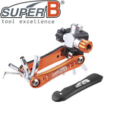 Super B 17 in 1 Bicycle Multi Tool w//chain tool and tire levers # 730//8075