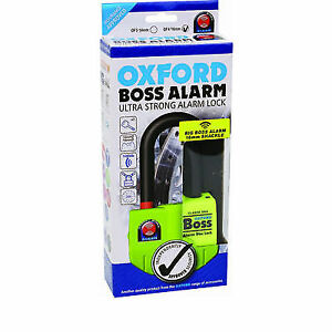 THATCHAM-Motorcycle-Brake-Alarm-Disc-Lock-16mm-OXFORD-BOSS-ULTRA-STRONG