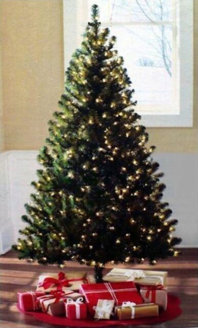 pre lit 65 madison pine christmas tree clear or multi colored lights