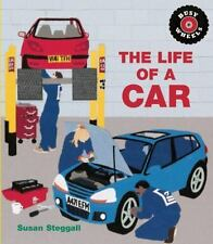 THE LIFE OF A CAR by Susan Steggall (2014, NEW Paperback) (Busy Wheels)