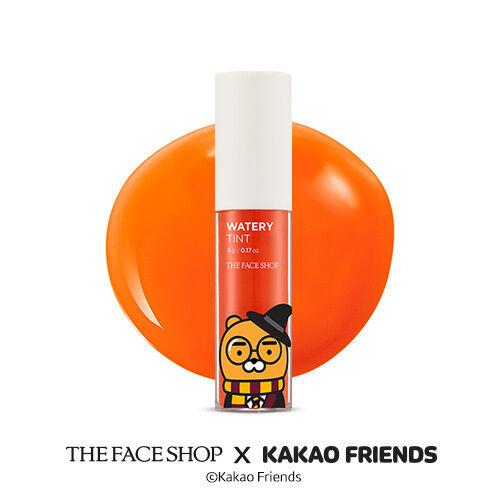 The Face Shop X Kakao Friends Watery Tint Halloween Ver. 5g #07 Pumpkin Orange