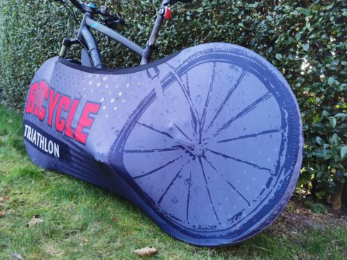 Bike Cover Indoor Anti-dust Bicycle Garage Wheel Chain Cover Velosock Cover